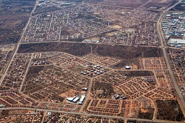 Housing Development Photograph - Urban Development by Dr Andre Van Rooyen/science Photo Library