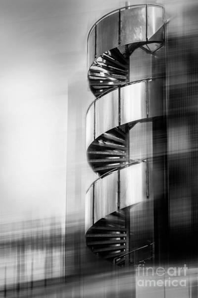 Photograph - Urban Drill - C - Bw by Hannes Cmarits