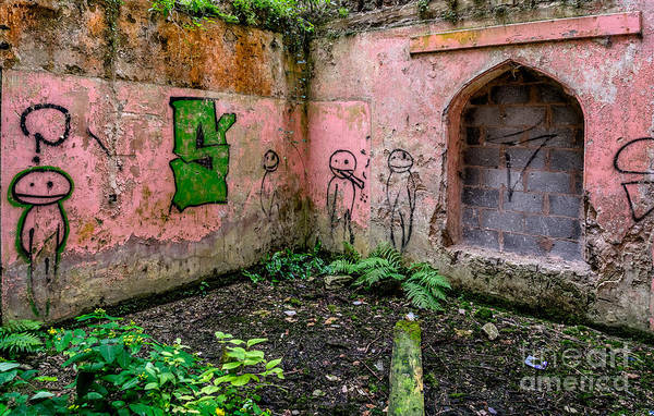 Urban Decay Wall Art - Photograph - Urban Exploration by Adrian Evans