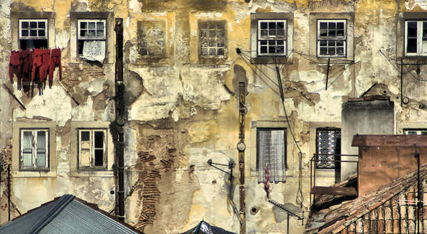 Urban Lisbon Art Print