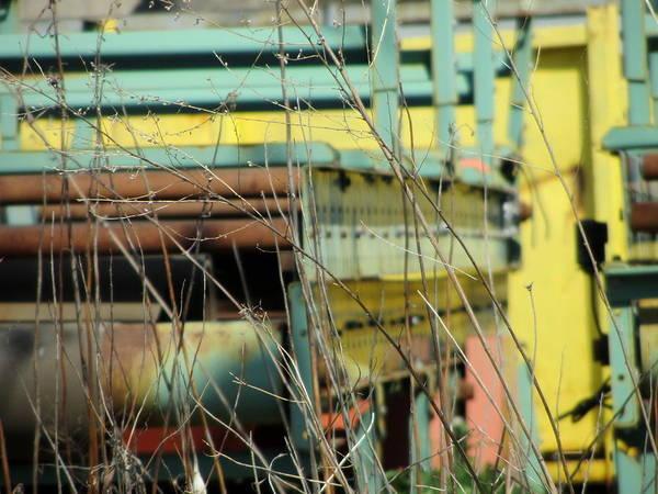 Photograph - Urban Scrap 2 by Anita Burgermeister