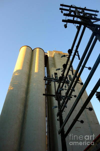Photograph - Urban Towers And Poles by Jacqueline Athmann
