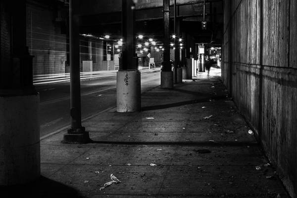 Chicago Black White Wall Art - Photograph - Urban Underground by Scott Norris