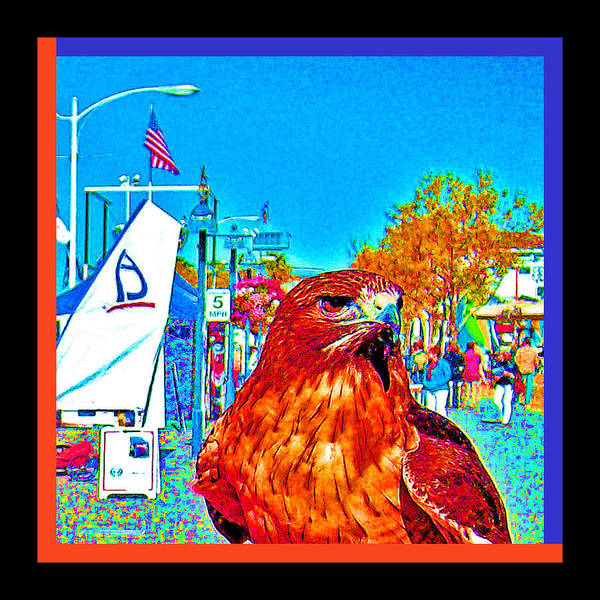 Digital Art - Urban Wings And Sails by Joseph Coulombe