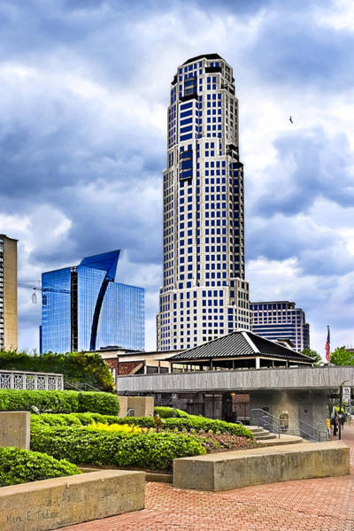 Photograph - Urbania - Atlanta Buckhead Skyline by Mark Tisdale