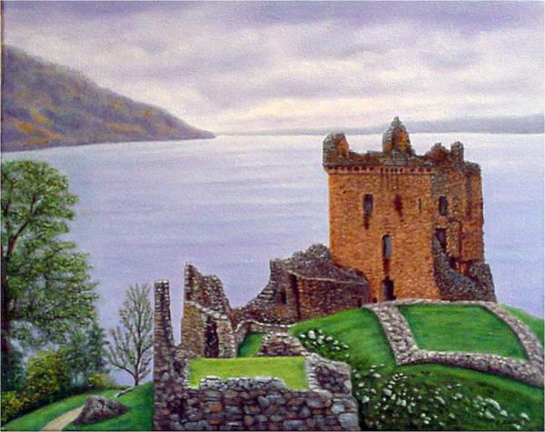 Urquhart Castle Loch Ness Scotland Art Print