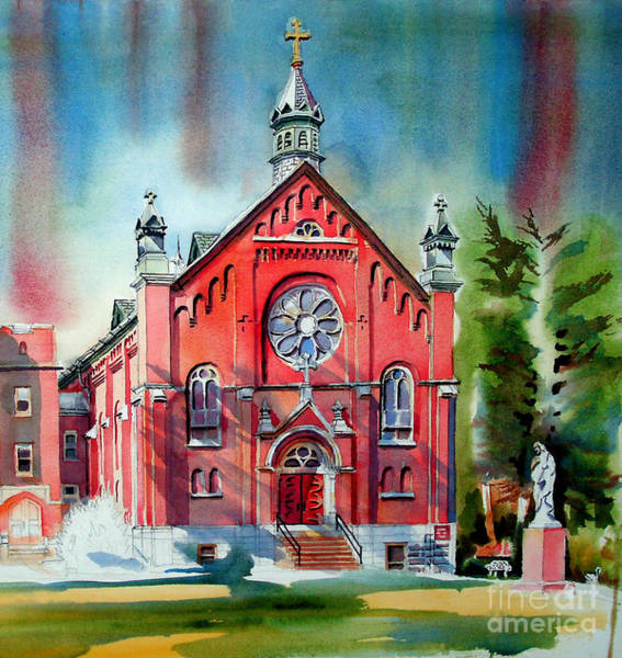 Painting - Ursuline Academy Sanctuary by Kip DeVore