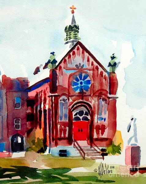 Wall Art - Painting - Ursuline II Sanctuary by Kip DeVore
