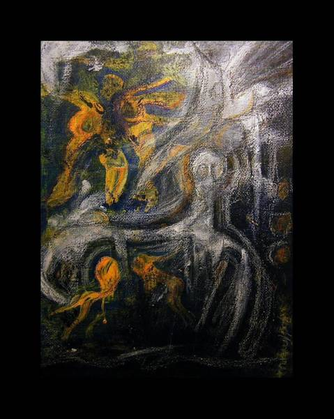 Primeval Painting - Ursuppe - Primeval Soup by Mimulux patricia No