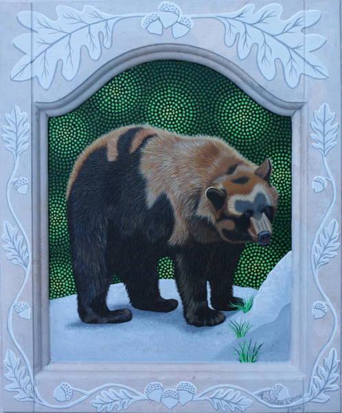 Painting - Ursus Americanus by Amanda  Lynne