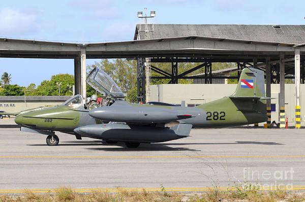 Tweets Photograph - Uruguayan Air Force A-37 Dragonfly by Riccardo Niccoli