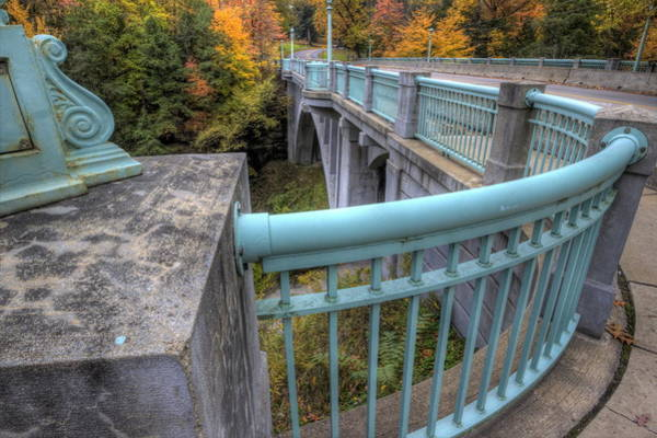 Photograph - Us 62 At Mill Creek Park In Fall by David Dufresne
