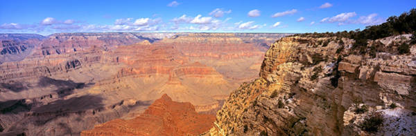 Chasm Photograph - Us, Arizona, Grand Canyon, View by Panoramic Images