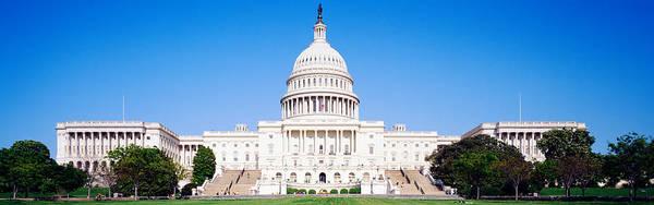 Legislature Photograph - Us Capitol, Washington Dc, District Of by Panoramic Images
