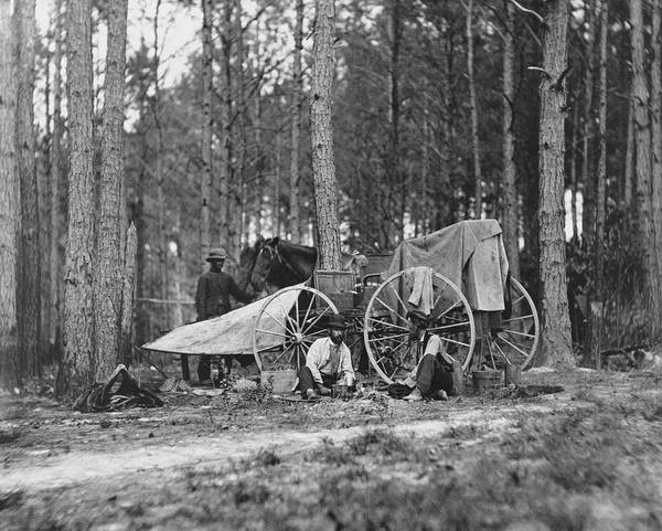 Mathew Photograph - Us Civil War Photographers by Library Of Congress/science Photo Library