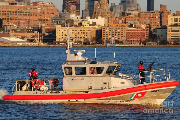 September 11 Attacks Photograph - U.s. Coast Guard - Always Ready by Paul Ward