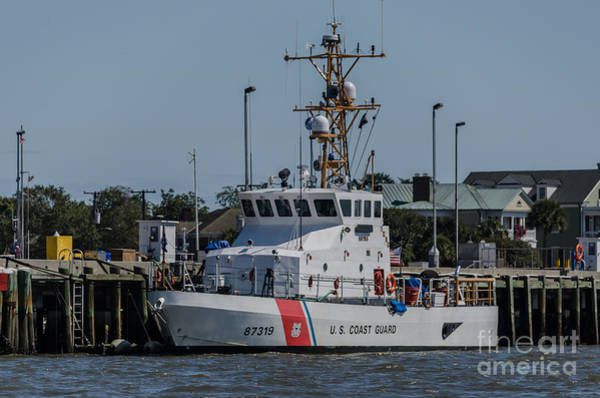 Photograph - Us Coast Guard Yellowfin by Dale Powell
