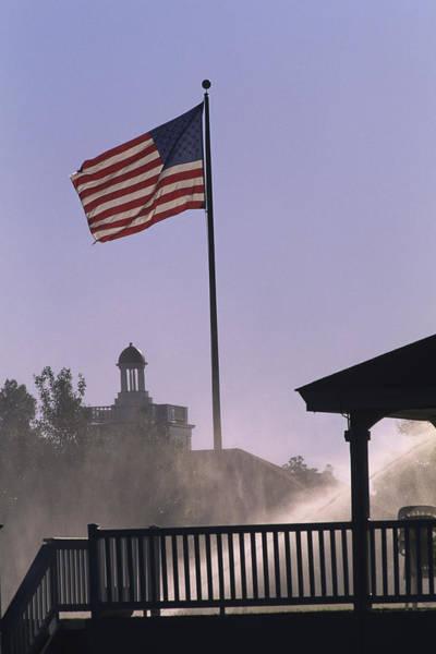 Photograph - U.s. Flag At Pinehurst by Dom Furore