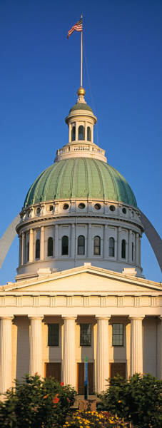Wall Art - Photograph - Us, Missouri, St. Louis, Courthouse by Panoramic Images