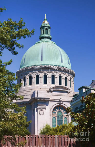 Maryland Wall Art - Photograph - Us Naval Academy Chapel In Annapolis by William Kuta