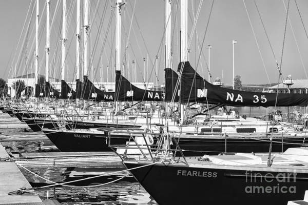 Us Navy 44 Sail Training Craft II Art Print