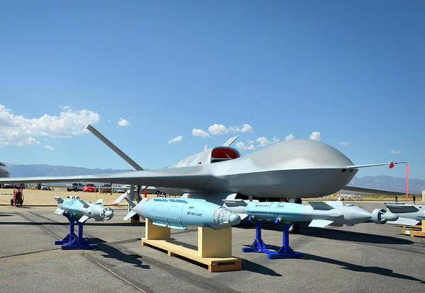 Aerial Combat Photograph - Us Navy Drone by U.s. Navy