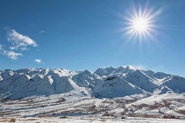 Alaska Photograph - Usa, Alaska, View Of Alaska Range At by Westend61