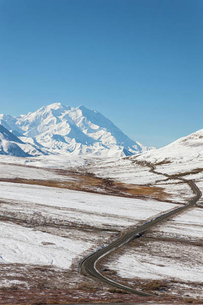 Alaska Photograph - Usa, Alaska, View Of Mount Mckinley And by Westend61