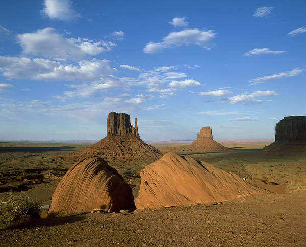 Alfresco Wall Art - Photograph - Usa, Arizona, Monument Valley, Rock by Tips Images