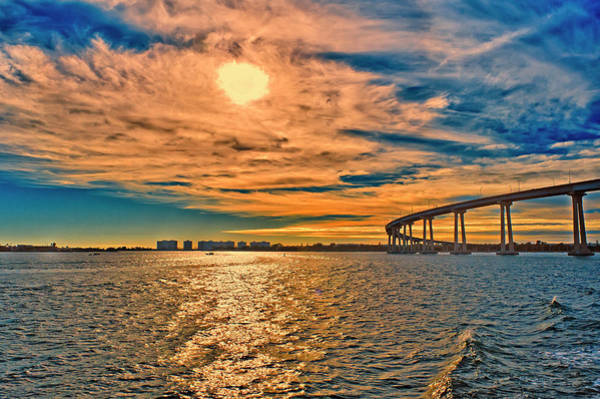 Coronado Photograph - Usa, Ca, San Diego-coronado Bay Bridge by Rona Schwarz