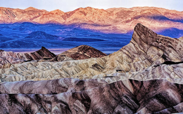 Death Valley Photograph - Usa, California Death Valley National by Joe Restuccia Iii