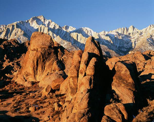 Mt. Adams Photograph - Usa, California, Eastern Sierra Range by Adam Jones