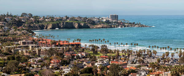 Wall Art - Photograph - Usa, California, La Jolla, Panoramic by Ann Collins