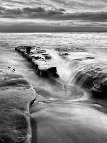 Collins Photograph - Usa, California, La Jolla, Rising Tide by Ann Collins