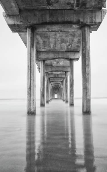 Scripps Pier Photograph - Usa, California, La Jolla, Scripps by John Ford