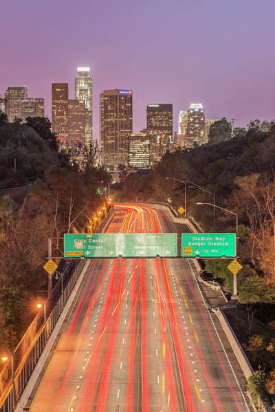Large City Wall Art - Photograph - Usa, California, Los Angeles 110 by Rob Tilley