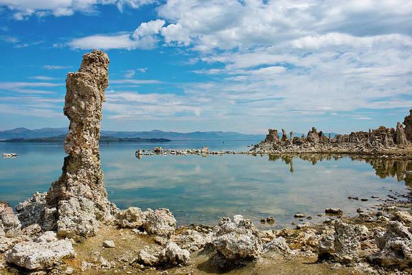 Carbonate Photograph - Usa, California, Mono Lake South Tufa by Bernard Friel