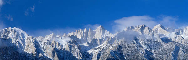 Jagged Photograph - Usa, California, Mount Whitney by Panoramic Images