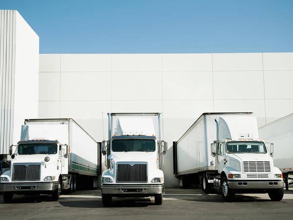 Anas Photograph - Usa, California, Santa Ana, Trucks And by Tetra Images - Erik Isakson