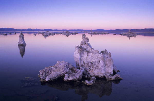 Desert View Tower Photograph - Usa, California, Tufa Formations And by Greg Vaughn