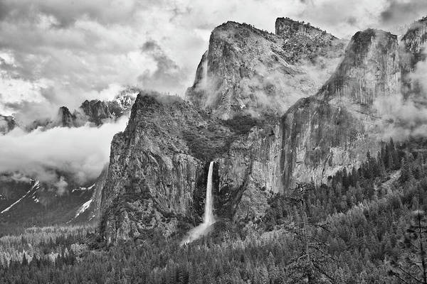 Usa, California, Yosemite, Bridalveil Art Print