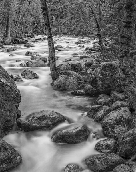 Wall Art - Photograph - Usa, California, Yosemite, Happy Isles by John Ford