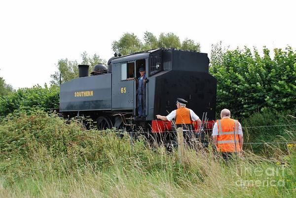 Bodiam Photograph - Usa Class 060 Steam Locomotive Bodiam by David Fowler