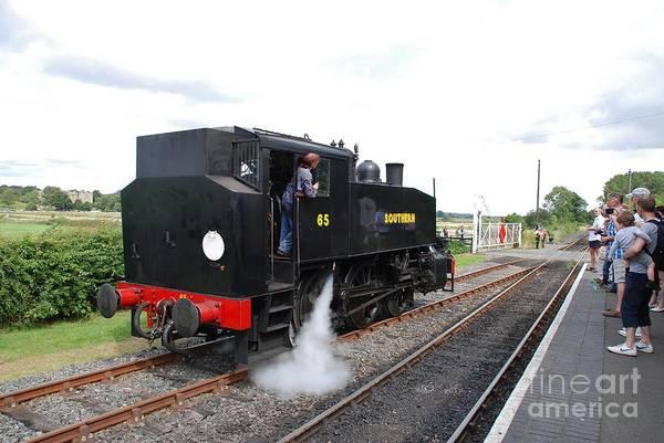 Bodiam Photograph - Usa Class 060t Steam Locomotive Bodiam by David Fowler