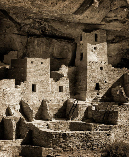 Tint Wall Art - Photograph - Usa, Colorado, Mesa Verde National Park by Ann Collins