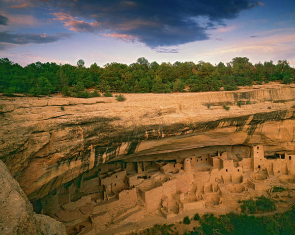 Usa, Colorado, Mesa Verde National Park Art Print by Jaynes Gallery