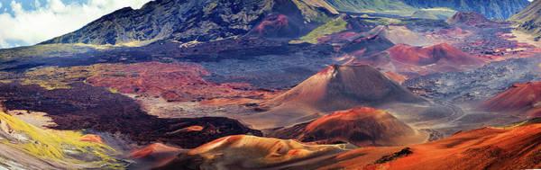 Maui Photograph - Usa, Hawaii, Maui, Haleakala National by Michele Falzone