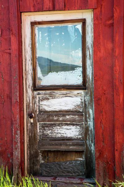 Wall Art - Photograph - Usa, Idaho, Fairfield, Front Door by Terry Eggers