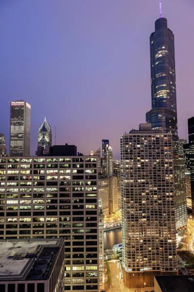 Chicago Tribune Wall Art - Photograph - Usa, Illinois, Chicago, Cityscape by Henryk Sadura