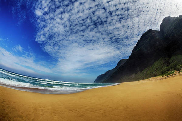 Away From It All Wall Art - Photograph - Usa, Kauai, Pristine Sand Beaches by Terry Eggers